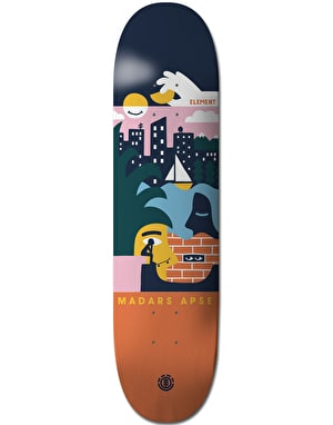 Element Madars Day Dreamer Skateboard Deck - 8.25