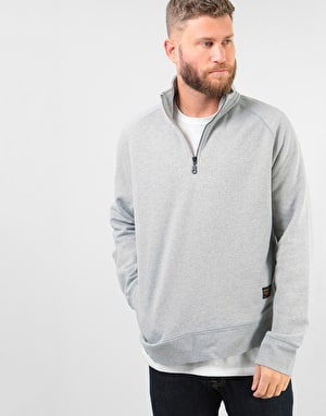 Levi's Skateboarding Quarter Zip Sweater - Rollerskate Grey Heather