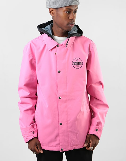 Sessions Angst 2019 Snowboard Jacket - Pink