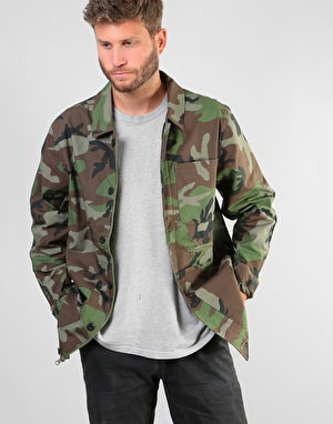 Nike SB Camo Chore Jacket - Medium Olive/Black