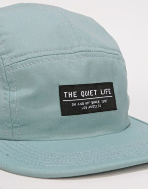 The Quiet Life Foundation 5 Panel Cap - Misty Blue