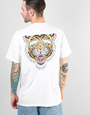 Scarred For Life Tigress T-Shirt - White