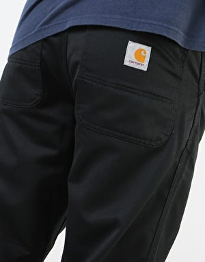 Carhartt Simple Pant - Black (Rinsed)