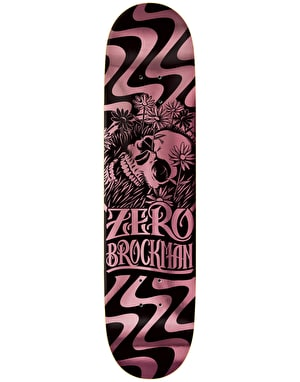 Zero Brockman Flashback Reissue Skateboard Deck - 8
