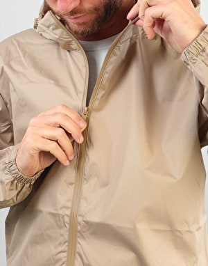Route One Full Zip Jacket - Khaki