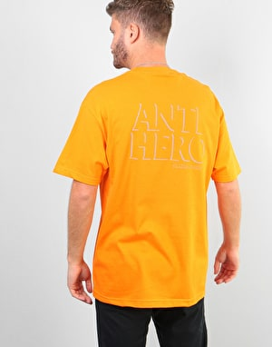Anti Hero Drophero T-Shirt - Orange/Grey Reflective