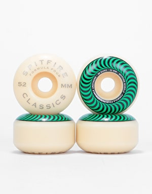 Spitfire Classics Formula Four 99d Skateboard Wheel - 52mm