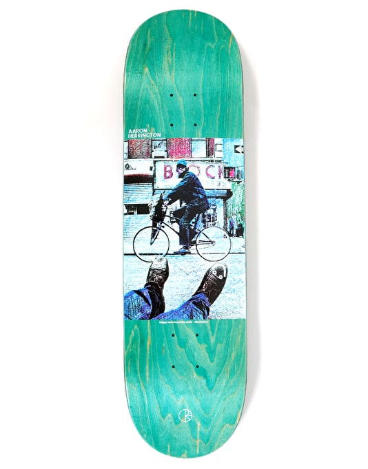 Polar Herrington Happy Sad Around The World Skateboard Deck - 8.5""