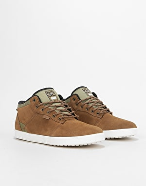 Etnies x ThirtyTwo Jefferson MTW Skate Shoes - Brown/Green