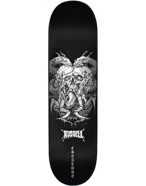 Creature Russell Death by Furnace Skateboard Deck - 8.5