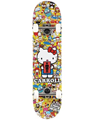 Girl x Sanrio Carroll Hella Kitty #2 Complete Skateboard - 7.75