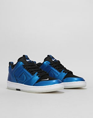 Nike SB Air Force II Low Skate Shoes - Intl Blue/Intl Blue-Black-White