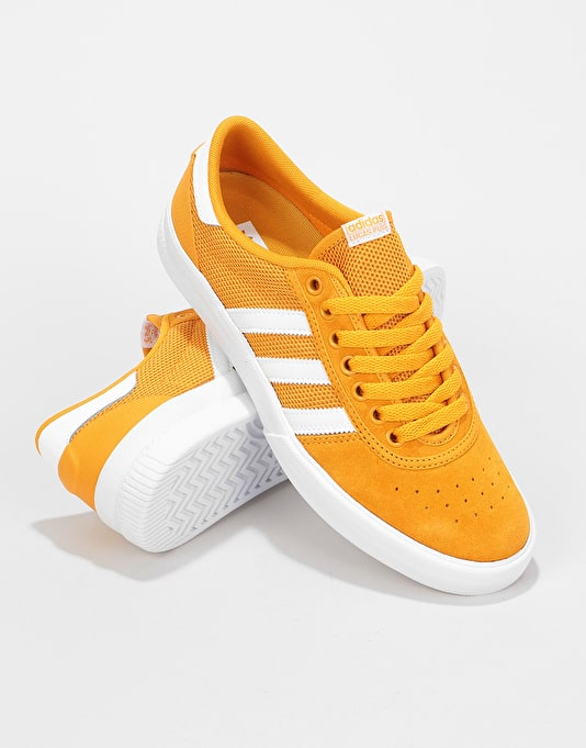 Adidas Lucas Premiere Skate Shoes - Tactile Yellow/White/White