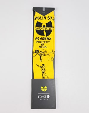 Stance x Wu Tang Protect Ya Neck Lightweight Crew Socks - Yellow