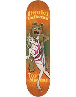 Toy Machine Lutheran Betard Slasher Skateboard Deck - 8.5