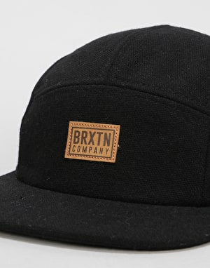 Brixton Quint 5 Panel Cap - Black