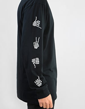 Vans Boneyard L/S T-Shirt - Black
