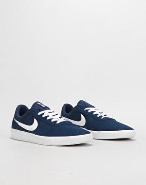 Nike SB Team Classic Skate Shoes - Midnight Navy/Midnight Navy-White