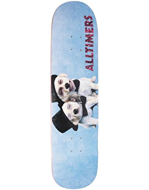 Alltimers Moreau Puppies Skateboard Deck - 8.25