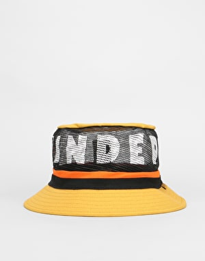 Brixton x Independent Hardy Bucket Hat - Yellow