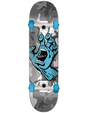Santa Cruz Screaming Hand Camo Complete Skateboard - 7.25