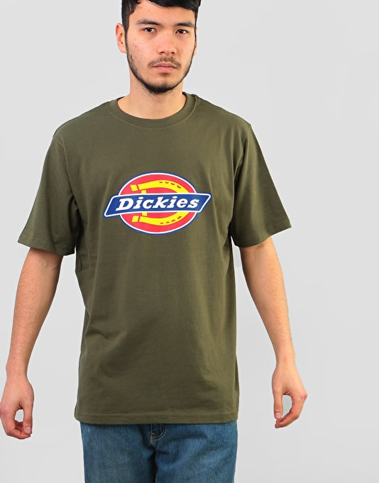 19fa8cfc470 Dickies Horseshoe T-Shirt - Dark Olive