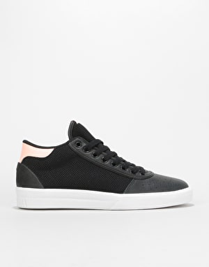 Adidas Lucas Premiere Mid Skate Shoes - Core Black/White/Haze Coral