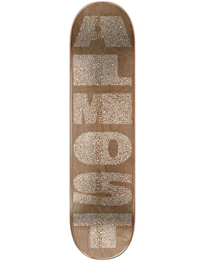 Almost Yuri Fat Font Skateboard Deck - 8.375