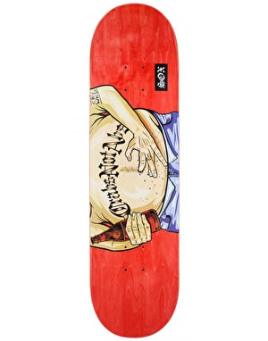CRV WKD Sox Crabs Not Abs Skateboard Deck - 8.5