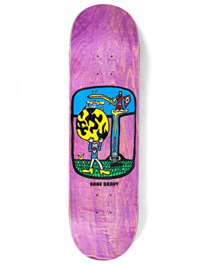 Polar Brady World Ending Skateboard Deck - 8.5