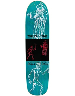 Welcome Pazuzu on Son of Planchette Skateboard Deck - 8.38