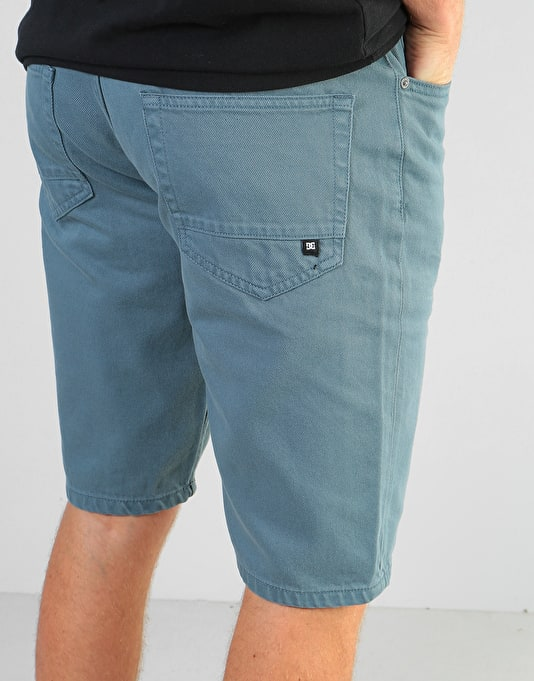 DC Worker Relaxed Shorts - Blue Mirage
