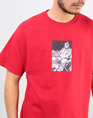 Manor Vorhees T-Shirt - Cherry Red