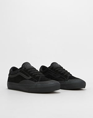 Vans TNT AP Skate Shoes - Blackout