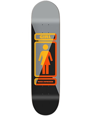 Girl Howard 93 Til Skateboard Deck - 8.5