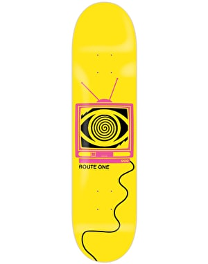 Route One Broadcasting Skateboard Deck - 8