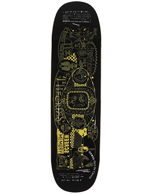 Theories Screen Memory UFO Shape Skateboard Deck - 8.5""