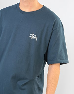 Stüssy Basic Stüssy T-Shirt - Ink