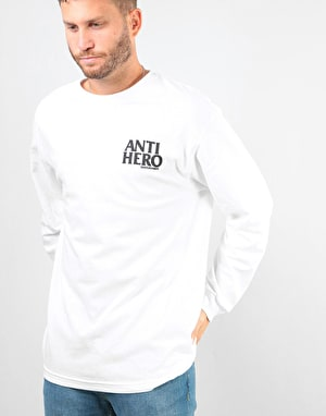 Anti Hero Lil Blackhero T-Shirt - White/Black