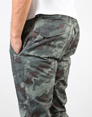 Bonfire Surface Stretch 2019 Snowboard Pants - Olive Camo