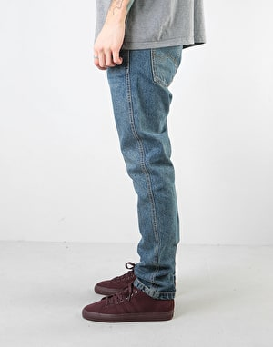 Route One Premium Slim Denim Jeans - Light Wash