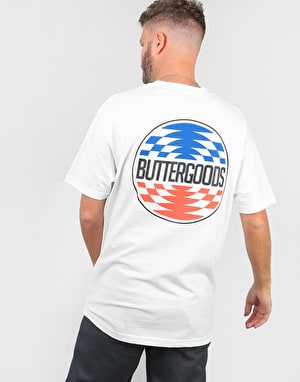 Butter Goods Press Logo T-Shirt - White