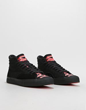 Diamond x Deathwish Select Hi Skate Shoes - Black