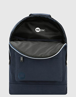 Mi-Pac Canvas Backpack - Blue Black
