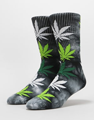 HUF Strain Plantlife Crew Socks - Bubba Kush