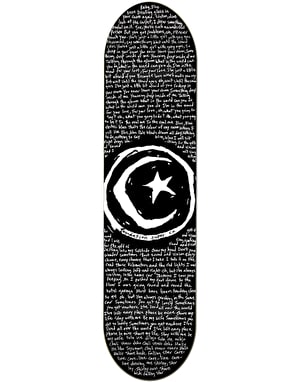 Foundation Star & Moon Low Skateboard Deck - 8.375