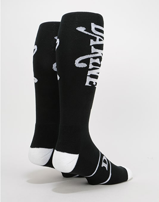 Dakine Freeride Snowboard Socks - Black/White