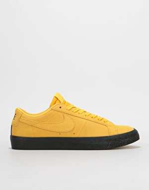 Nike SB Zoom Blazer Low Skate Shoes - Yellow Ochre/Yellow Ochre-Black