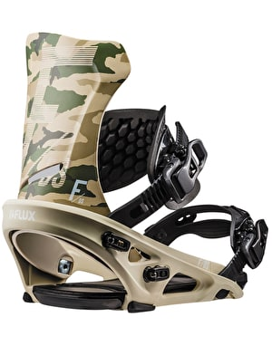 Flux DS 2019 Snowboard Bindings - Camo