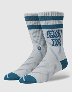 Stance Feelin Fine Classic Crew Socks - Blue